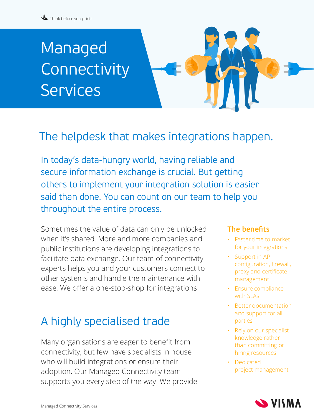 Frontpage Managed Connectivity
